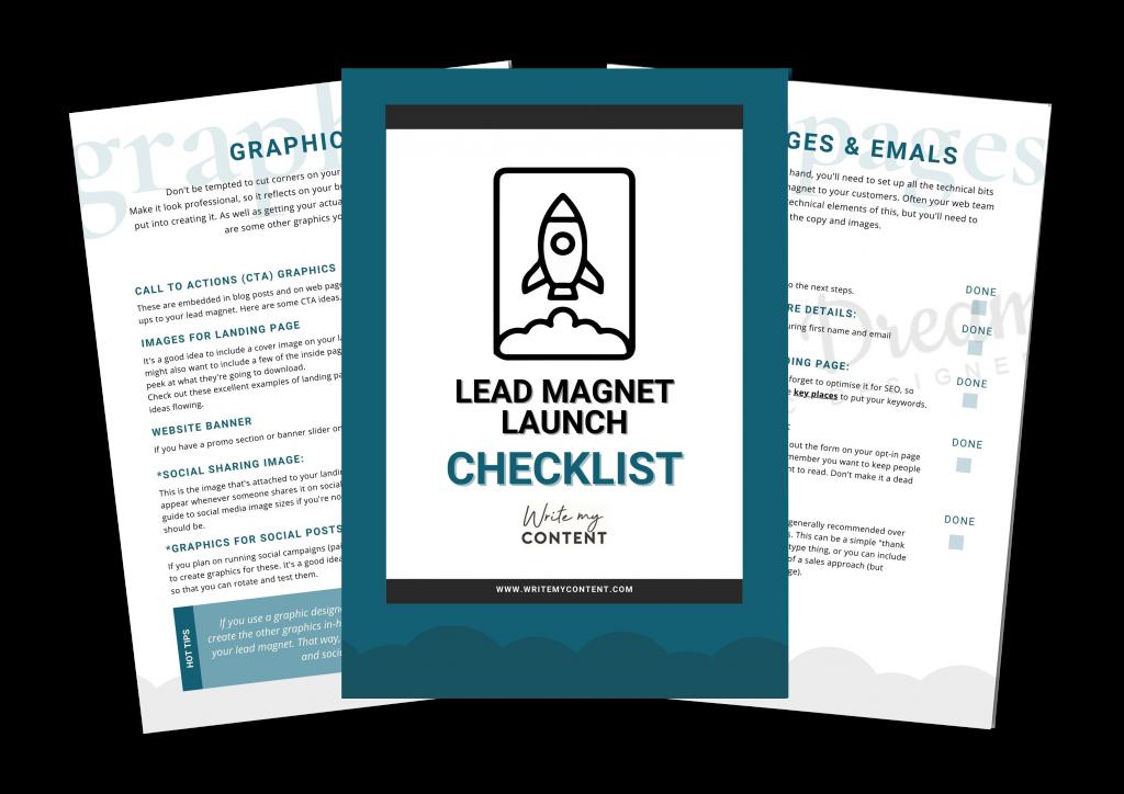 Lead Magnet Launch Checklist